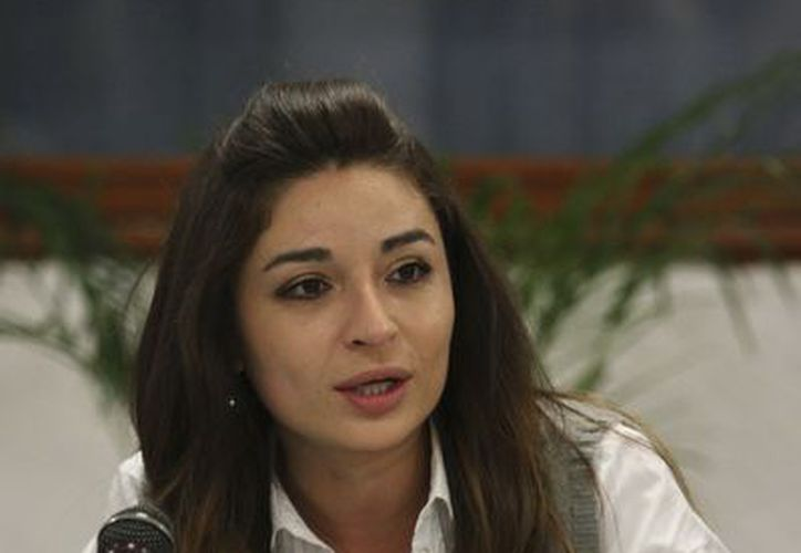Diputada local del PAN, Laura Ballesteros. (Notmex)