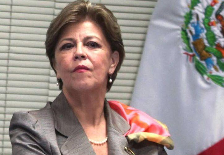 Cecilia Romero confió en que prevalecerá el sentido de partido en el proceso de renovación de la dirigencia del PAN y se mantendrá la unidad rumbo a su 75 Aniversario. (@CeciliaRomeroc)