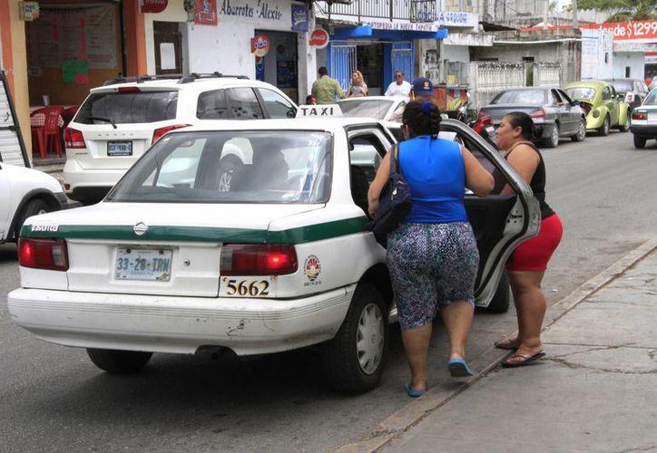 En Cancún circularán ahora 7 mil 700 unidades. (Tomás Álvarez/SIPSE)