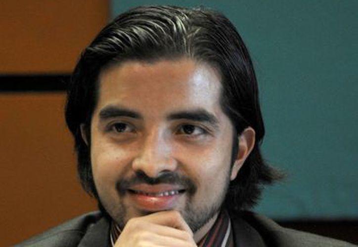El diputado René Fujiwara, exyerno de Elba Esther Gordillo. (Nueva Alianza)