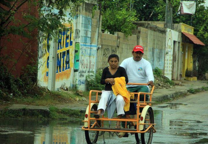 Las lluvias causaron afectaciones en todo el estado. (José Acosta/SIPSE)