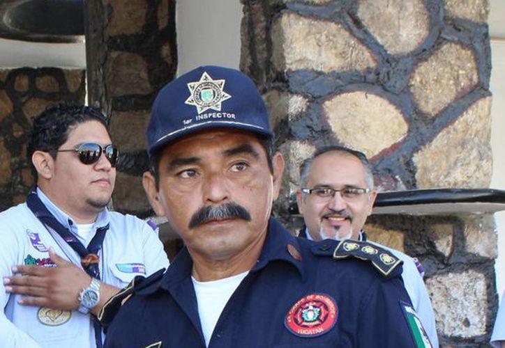Manuel Fernando Solís Moguel, subdirector de la Dirección de Siniestros y Rescate de la SSP. (SIPSE)