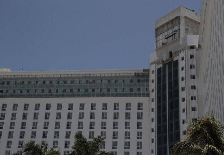 El hotel cerró las puertas por trabajos de remodelación. (Tomás Álvarez/SIPSE)