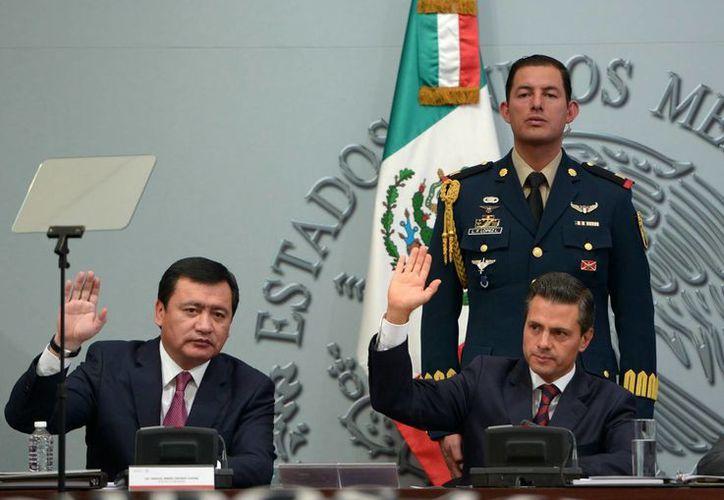 Peña Nieto enviará al Congreso de la Unión, mediante el secretario de Gobernación, Miguel Ángel Osorio Chong, su II Informe de Gobierno. (Archivo/Notimex)