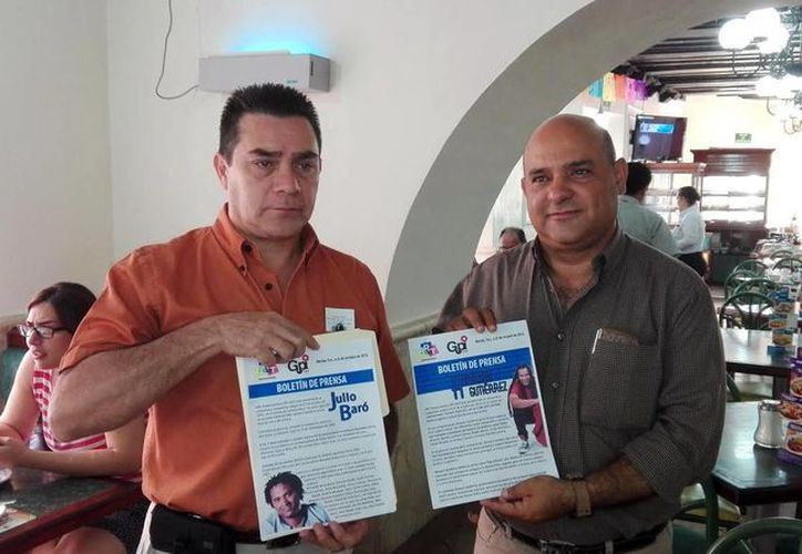 Imagen de los promotores del concierto del cantautor cubano Amaury Gutiérrez. (Milenio Novedades)