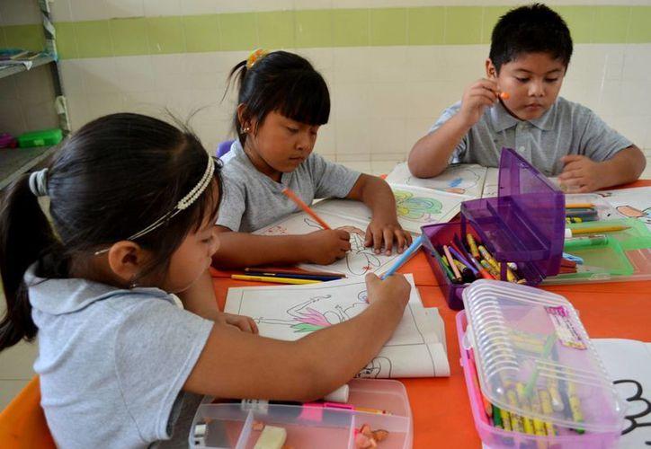 En las escuelas comunitarias se imparte educación básica. (Cortesía)