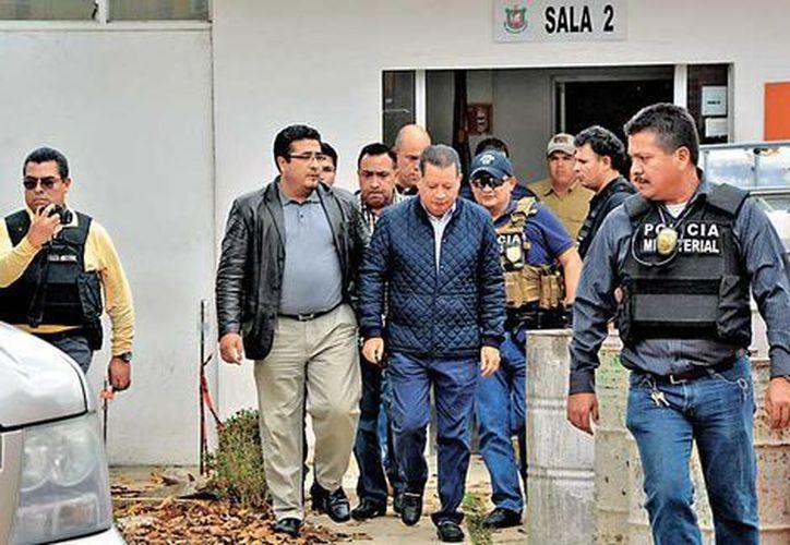 Ríos fue internado en el penal de Pacho Viejo, donde también están recluidos el ex secretario de Seguridad Pública, Arturo Bermúdez, y el dirigente de los 400 Pueblos, César del Ángel Fuentes. (Milenio)