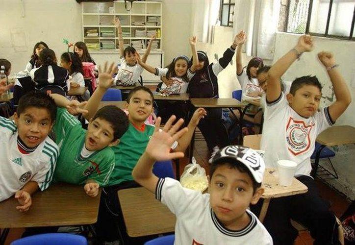 Las preinscripciones para preescolar, y primero de primaria y secundaria se realizarán del 1 al 15 de febrero. (Notimex)
