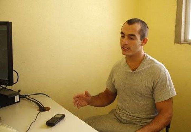 Andrew Tahmooressi fue detenido en México después que cruzó la frontera desde EU llevando tres armas de fuego.(Alejandro Tamayo/vidalatinasd.com)