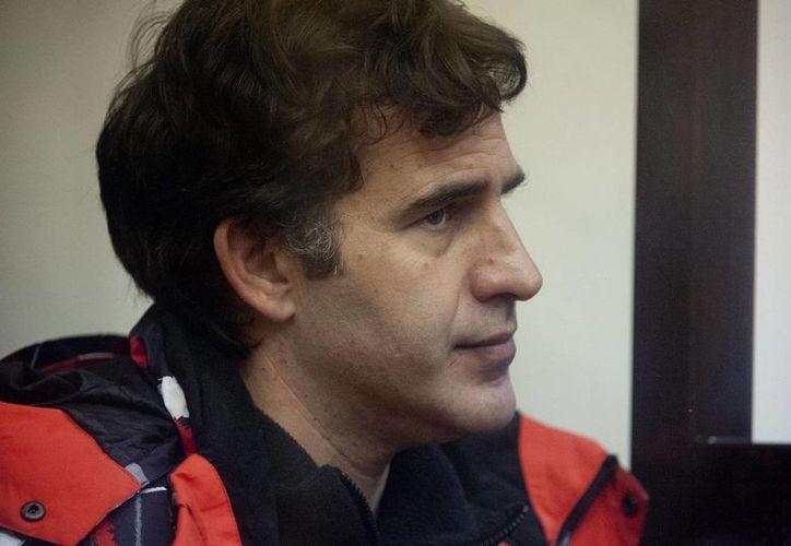 El argentino Miguel Hernán Orsi, uno de los activistas acusados por Rusia. (Agencias)