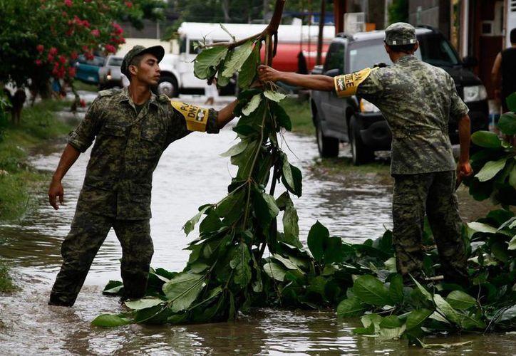 Este sábado se dio a conocer la declaratoria de emergencia de la Segob para 22 municipios de Veracruz afectados por condiciones de clima. (Notimex)
