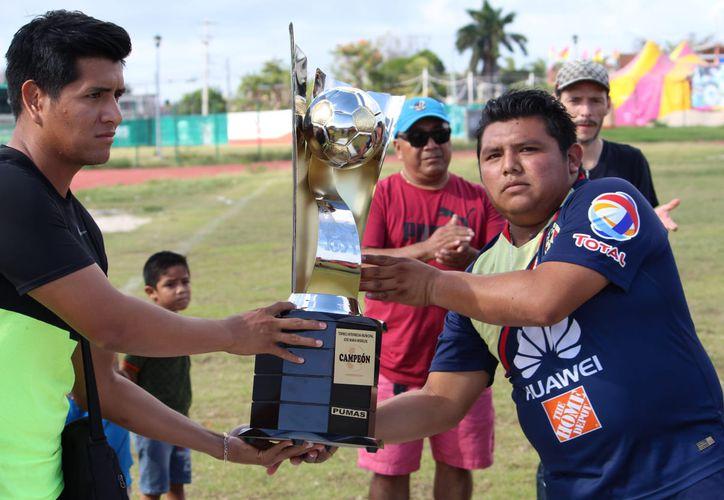 Con este triunfo los Pumas ascienden a Primera Fuerza. (Ángel Villegas/SIPSE)