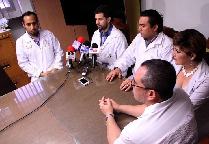 """Esta viernes se anunció que el Hospital """"Elvia Carrillo Puerto"""" está aplicando la medicina nuclear. (José Acosta/SIPSE)"""