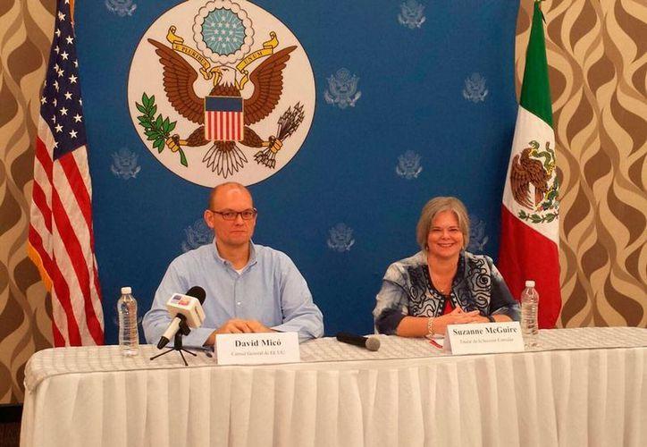 El nuevo Cónsul de Estados Unidos en Yucatán, David Micó, dijo que es un privilegio vivir en la entidad. (Candelario Robles/SIPSE)