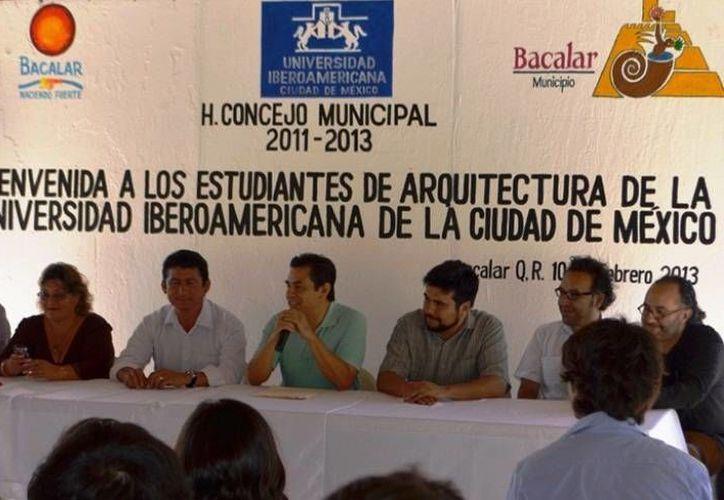 Estudiantes de arquitectura de la Universidad Iberoamericana contribuirán al mejoramiento de la ciudad. (Redacción/SIPSE)