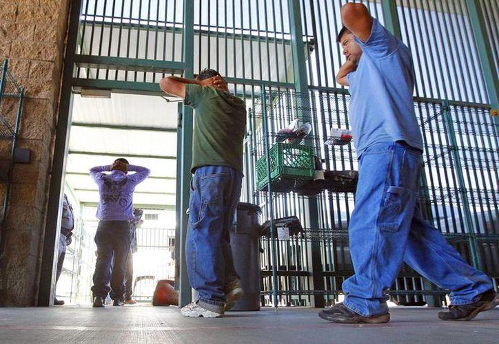 Trump dijo durante su campaña que el sistema penitenciario del país era un desastre y mostró su respaldo a las prisiones privadas. (AP/Ross D. Franklin)