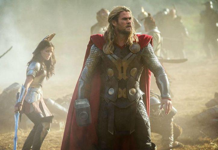 Fuentes de la industria cinematográfica estiman que la cinta estelarizada por Chris Hemsworth superará, de viernes a domingo los 38 millones 500 mil dólares. (marvel.com)