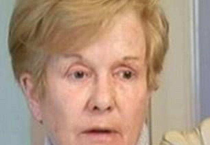 El esposo de Angeline O'Grady, Brian, murió de cáncer en octubre de 2011. (dailymail.co.uk)