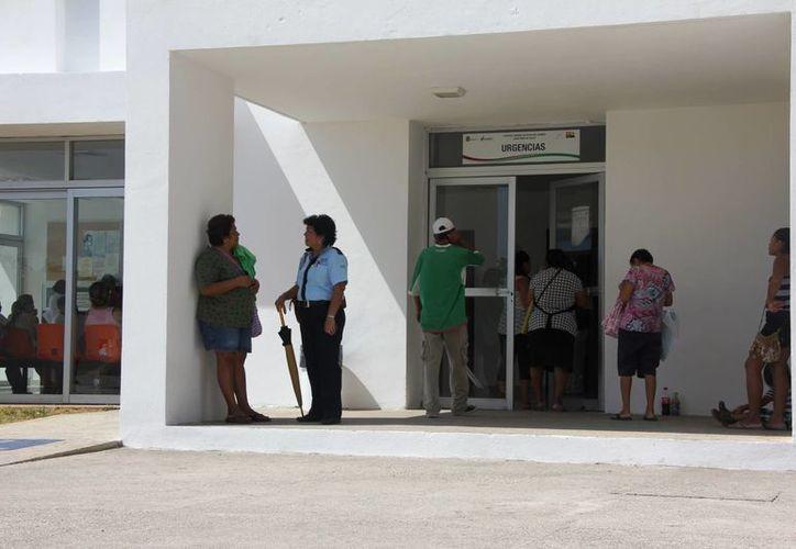 Los servicios médicos más solicitados en los centros de salud de la localidad son los ginecológicos y los del área quirúrgica. (María Mauricio/SIPSE)