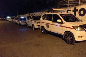 Paro del FUTV y taxistas contra Uber, en Mérida