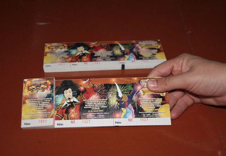 Estas son las entradas aseguradas a Adrián Canul Ham. (Gustavo Villegas/SIPSE)