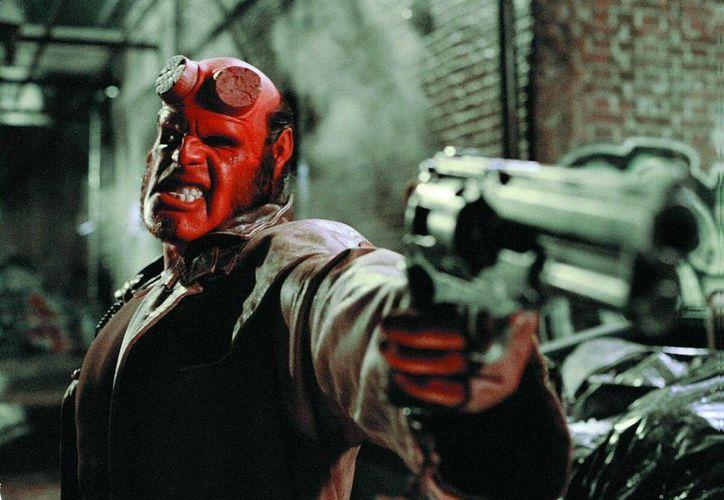 La película 'Hellboy 3' no se llevará a cabo, debido a que no hubo un acuerdo entre los involucrados en el famoso filme de Guillermo del Toro.(Archivo/SIPSE)