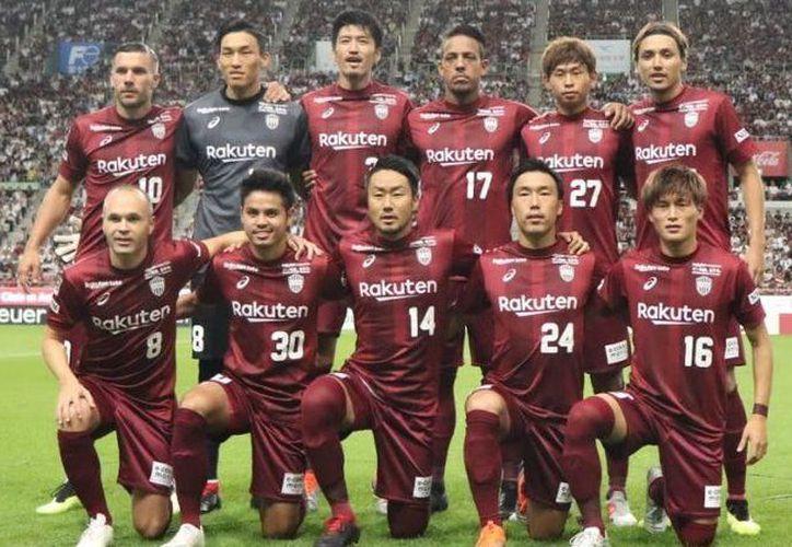 El equipo japones, Vissel Kobe ganó el partido 2-1 a Jubilo Iwata. (Foto: Vissel Kobe)