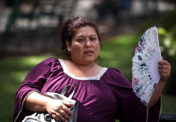 Hasta las 16:30 horas de este miércoles la lluvia no se hacía presente en el centro de Mérida. Solo había mucho calor. (SIPSE)