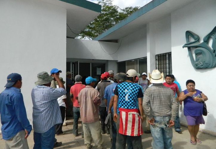 Las intoxicaciones se suceden una tras otra en el sur de Yucatán. La imagen es del caso de Tekax. (SIPSE)