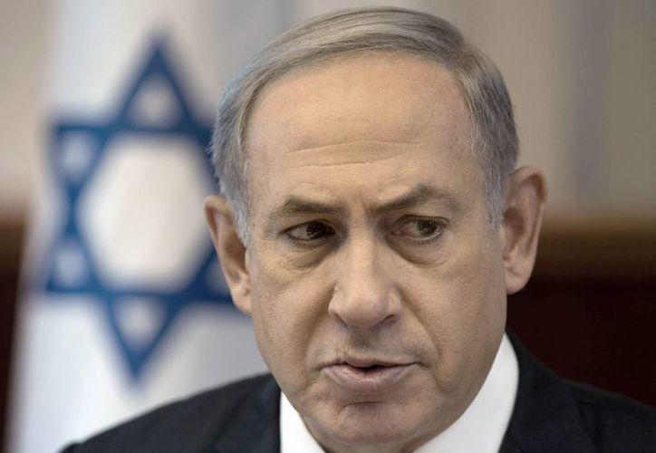 Al tiempo en que Israel levanta una valla en la frontera con Jordania, el primer ministro de Israel, Benjamin Netankayu, declaró que en el caso de los exiliados de Siria, no los pueden recibir porque son un país muy pequeño. (EFE)