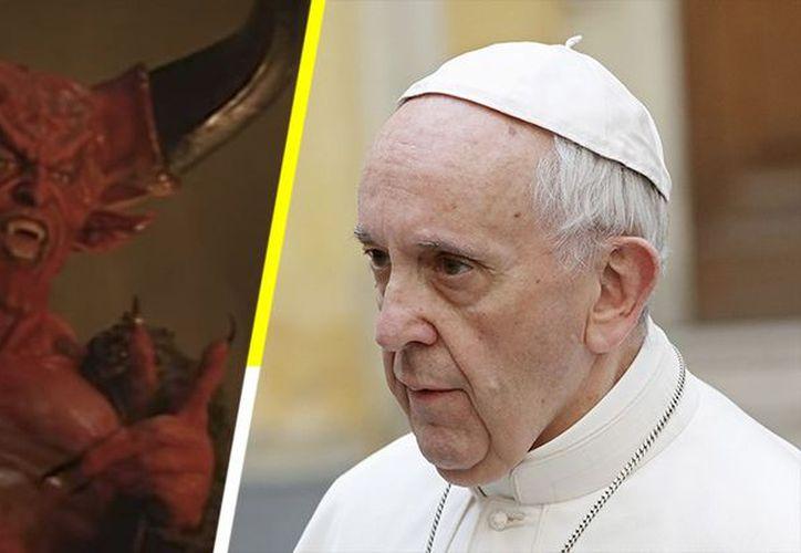 El Papa Francisco indicó que el diablo es un perro rabioso, pero ya derrotado, por eso no se puede dialogar con él y se debe tener cuidado de sus ataques. (Contexto/Internet)