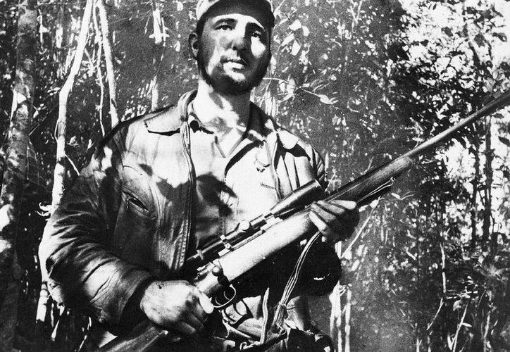 Fue en 1955 cuando Castro llegó a Mérida, Yucatán, para después dirigirse a Campeche, Estado de México y Veracruz. (Notimex/ AP)