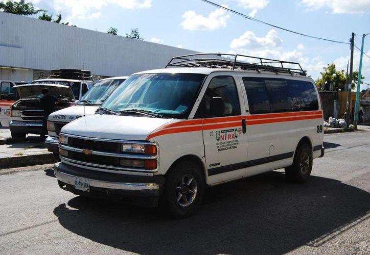 En la zona sur que abarca los municipios de Othón P. Blanco y Bacalar existen alrededor de 100 unidades. (Gerardo Amaro/SIPSE)