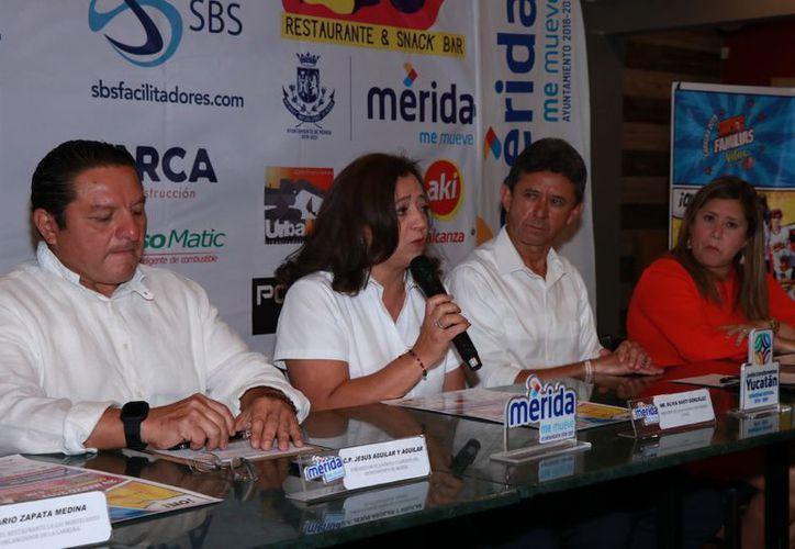 Se realizó la presentación de la carrera Vifac. (Jorge Acosta/Novedades Yucatán)