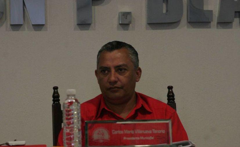 Carlos Mario Villanueva Tenorio no cumplió la promesa de reembolsar los recursos erogados por los alcaldes. (Archivo/SIPSE)