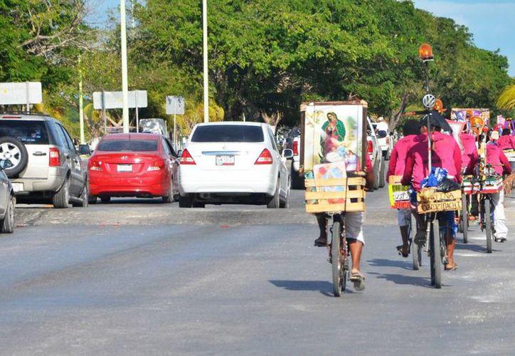 Campeche es paso de numerosos antorchistas yucatecos. (Milenio Novedades)