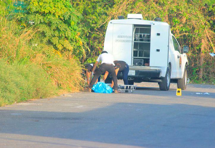 Vecinos de la vecinos de la calle 10, en la colonia Ejidal, dieron parte del hallazgo del cadáver. (Redacción/SIPSE)