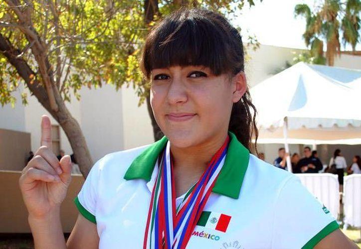 En el Mundial Sub-17 celebrad en Kosice, Eslovaquia, el año pasado, Ana Lilia se alzó con dos medallas de oro.(Archivo/mexicalisport.com)