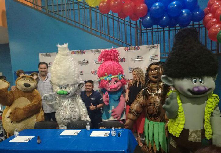 Personajes como Trolls y princesas de Disney alegrarán a los infantes en su día. (Foto: Jocelyn Díaz)