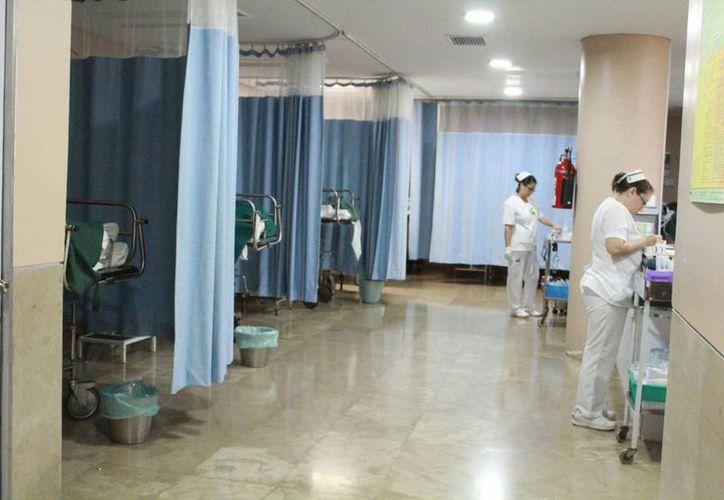 Personal médico refiere que estos accidentes ocurren principalmente por operar equipos sin autorización. (Luis Soto/SIPSE)