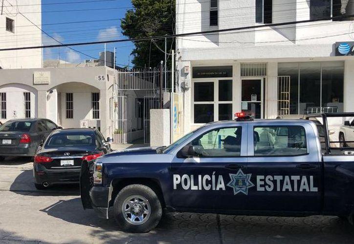 Al lugar de los hechos, llegaron elementos de la Policía Estatal. (Redacción/SIPSE)
