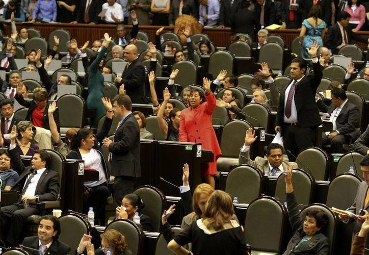 Los diputados federales tienen varios pendientes importantes en su agenda. (Notimex)