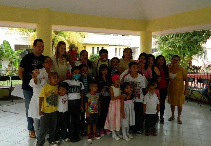 """Iniciarán el programa """"Risas por la vida"""" para los menores. (Sergio Orozco/SIPSE)"""