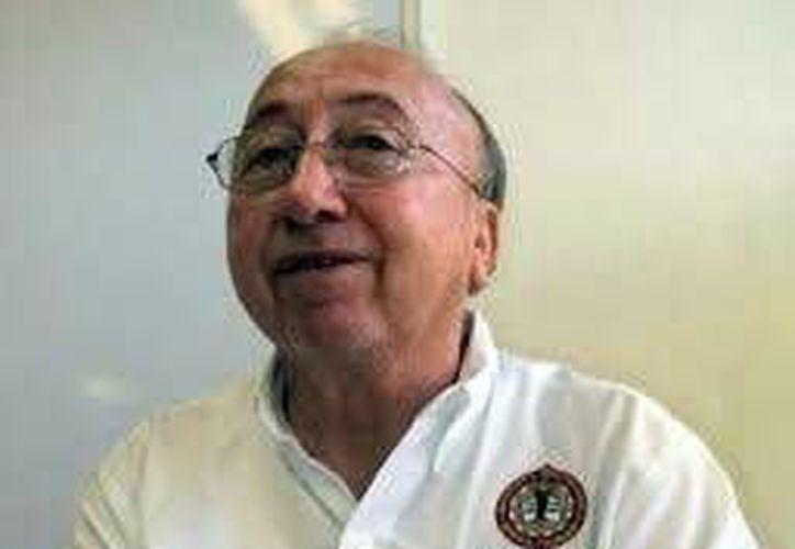 El astrónomo yucateco Eddie Ariel Salazar. (Milenio Novedades)