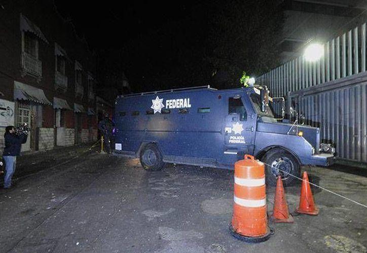 Los secuestradores fueron trasladados a las instalaciones de la Seido. (imagenzac.com.mx/cortesía)
