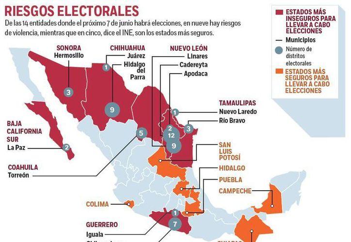 El Ejército y la Marina se coordinarán con el INE para que las elecciones sean seguras. (excelsior.com.mx)