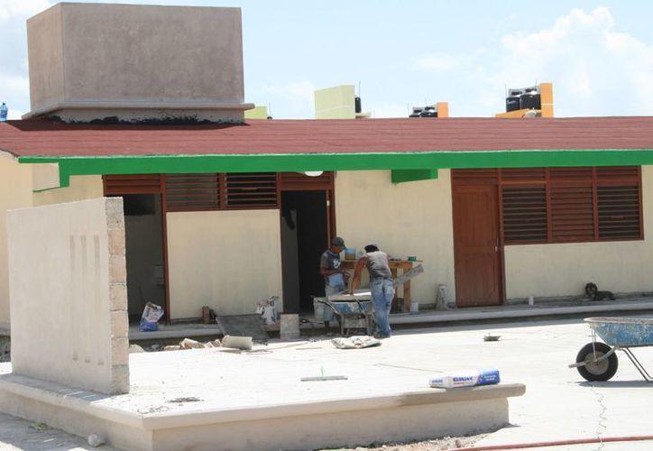 El Solidaridad 51 de los 106 planteles educativos que hay, ya son parte del programa 'Escuelas de Calidad'. (Adrián Barreto/SIPSE)