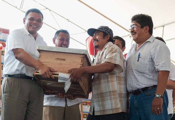 El gobernador Rolando Zapata seguirá en Peto la entrega de apoyos agropecuarios y pesqueros.