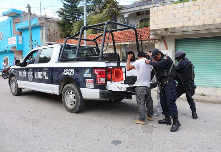 Las autoridades policíacas prevén reforzar los esquemas de prevención del delito. (Foro: Adrián Barreto)