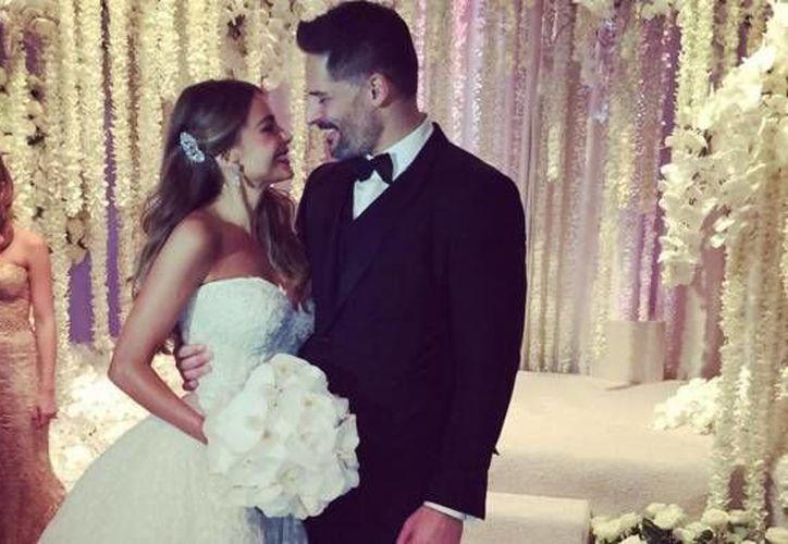 Sofía Vergara y Joe Manganiello celebraron su boda este domingo junto a 400 invitados, entre los que estuvieron Arnold Schwarzenegger, Resse Whiterspoon y Roselyn Sánchez. (Instagram: Sofía Vergara)